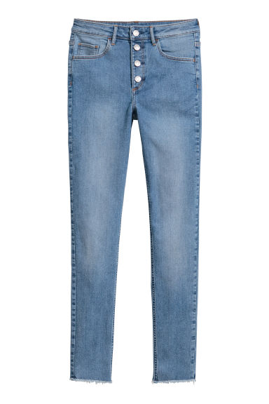 Skinny High Ankle Jeans - 牛仔蓝 -  | H&M CN