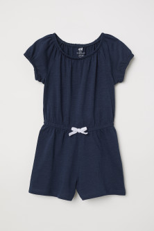 Jersey playsuit