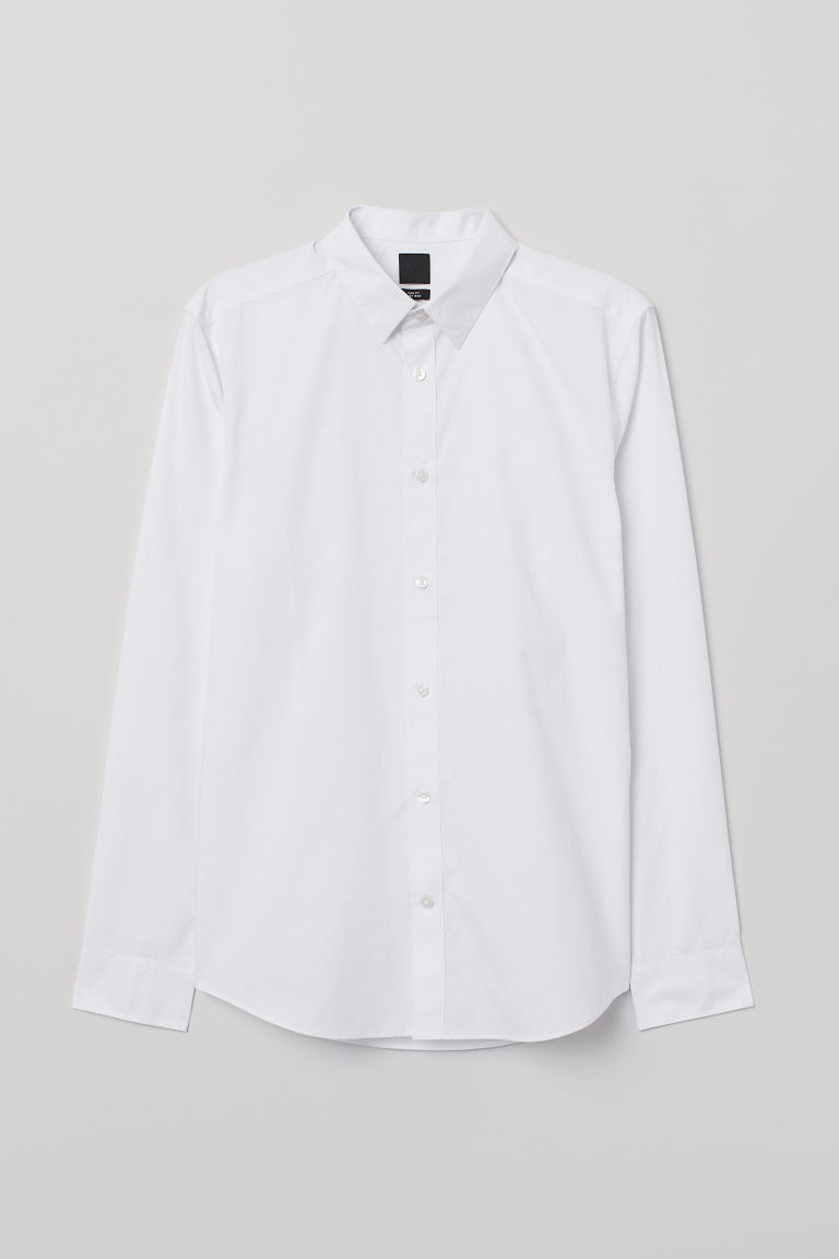 Slim Fit Easy-iron Shirt