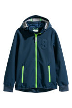 Softshell Jacket - Dark blue - Kids | H&M CN 2