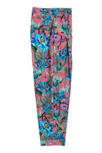 Patterned trousers - Mole/Patterned - Ladies | H&M CN 3