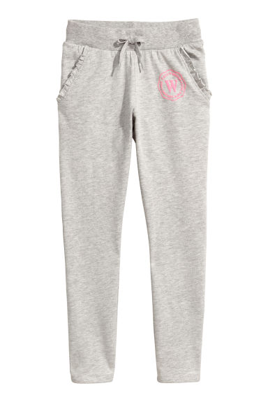 Joggers - Light grey marl - Kids | H&M