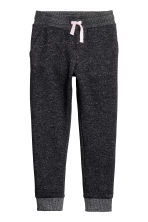 Joggers - Black/Silver-coloured - Kids | H&M 1