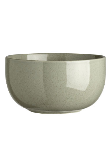 Stoneware bowl - Dusky green - Home All | H&M IE