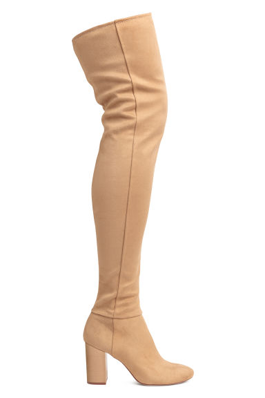 Thigh boots - Camel - Ladies | H&M IE