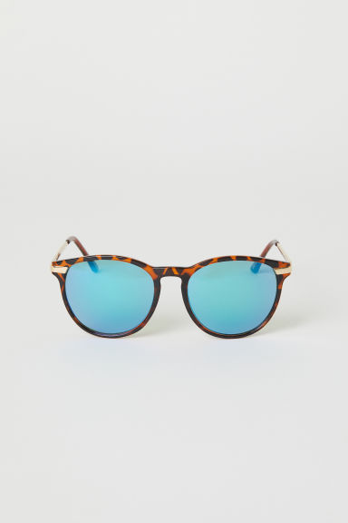 Sunglasses - Brown/Petrol - Ladies | H&M GB