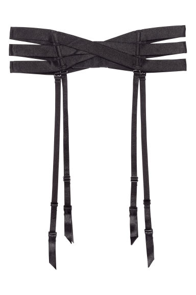 Suspender belt - Black - Ladies | H&M