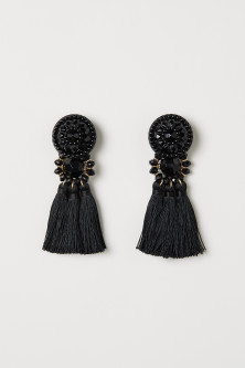 Earrings with tassels