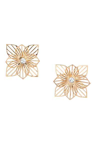 Earrings - Gold-coloured - Ladies | H&M
