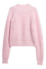 Ribbed jumper - Light pink - Ladies | H&M CN 2