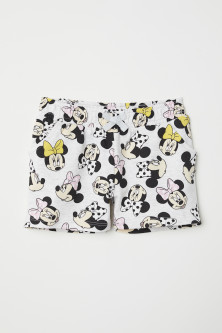 Shorts with Printed Design