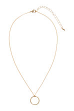 Necklace with a pendant - Gold-coloured - Ladies | H&M CN 2