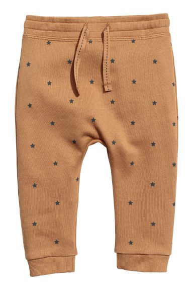 Joggers - Marrone/stelle - BAMBINO | H&M CH
