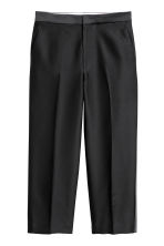 Wool-blend suit trousers - Black - Ladies | H&M IE 2
