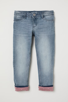 Slim Lined Jeans