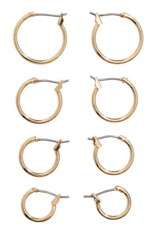 4 pairs earrings