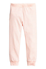 Jersey pyjamas - Powder pink/White striped - Kids | H&M CN 2