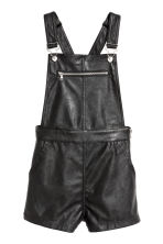 Dungaree shorts - Black - Ladies | H&M CN 2