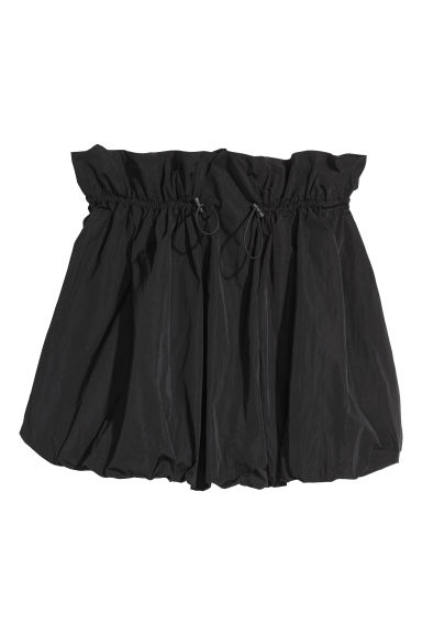 Balloon skirt - Black - Ladies | H&M