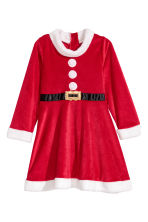 Santa dress and hat - Red -  | H&M CN 3