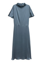 Silk dress - Turquoise - Ladies | H&M IE 2