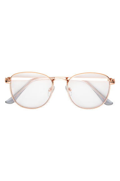 Glasses - Rose gold-coloured - Ladies | H&M GB