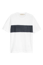 T-shirt color block - Bianco - UOMO | H&M IT 2