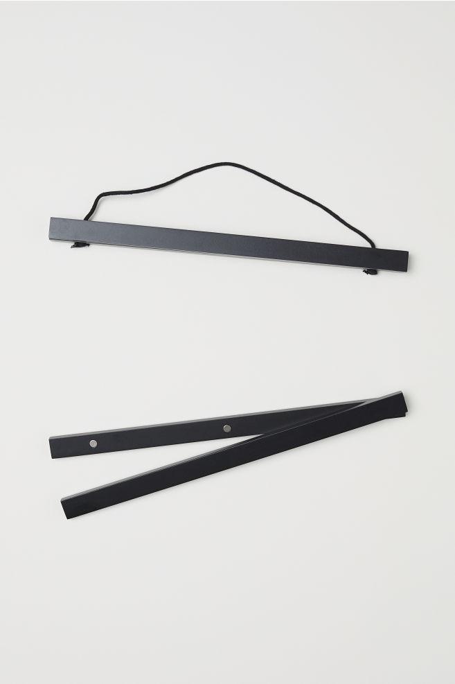 Marco de madera - Negro - HOME | H&M ES