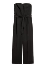 Strapless jumpsuit - Black - Ladies | H&M 2