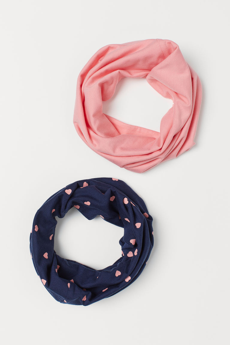 2-pack Jersey Tube Scarves