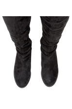 Knee-high boots - Black - Ladies | H&M CN 2