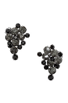 Sparkly clip earrings