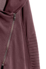 Hooded sweatshirt cardigan - Dark burgundy - Ladies | H&M 3