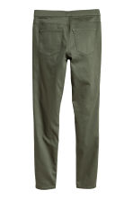 Superstretch treggings - Khaki green - Ladies | H&M 2