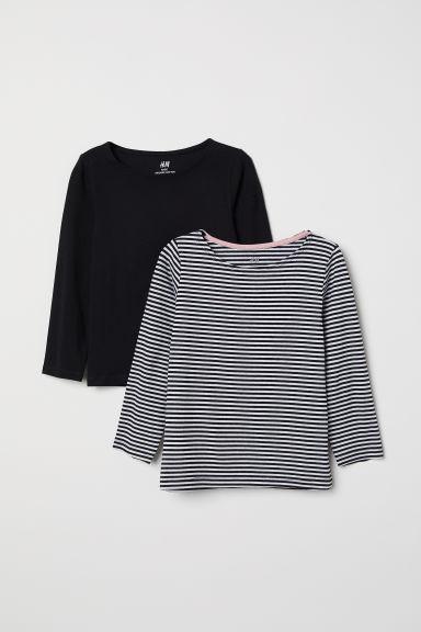 2-pack Long-sleeved Tops