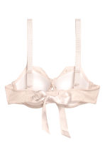 Lace balconette bra - Light beige - Ladies | H&M CN 3