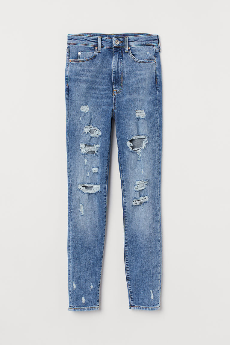 Super Skinny High Ankle Jeans