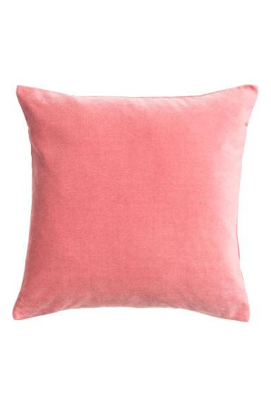 Copricuscino in velluto - Rosa - HOME | H&M IT