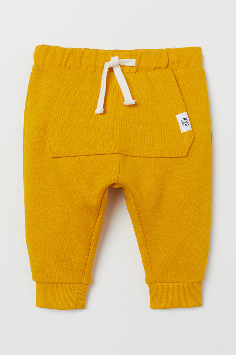 Sweatpants - Yellow/NYC - Kids | H&M GB