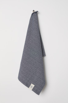 Textured-weave tea towel