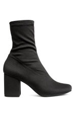 Ankle boots with a soft shaft - Black - Ladies | H&M 1