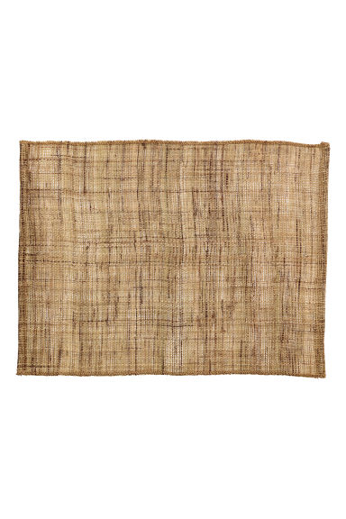 Linen table mat - Natural - Home All | H&M CN