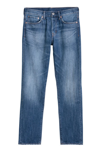 Straight Jeans - Denim blue -  | H&M GB