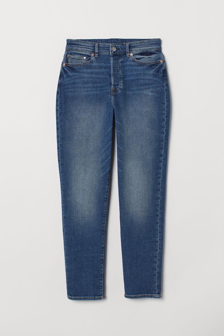 Mom High Ankle Jeans - Denim blue -  | H&M GB