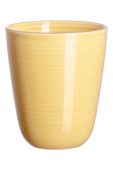 Porcelain mug - Yellow - Home All | H&M CN