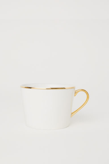 Tasse en porcelaine - Blanc - Home All | H&M FR