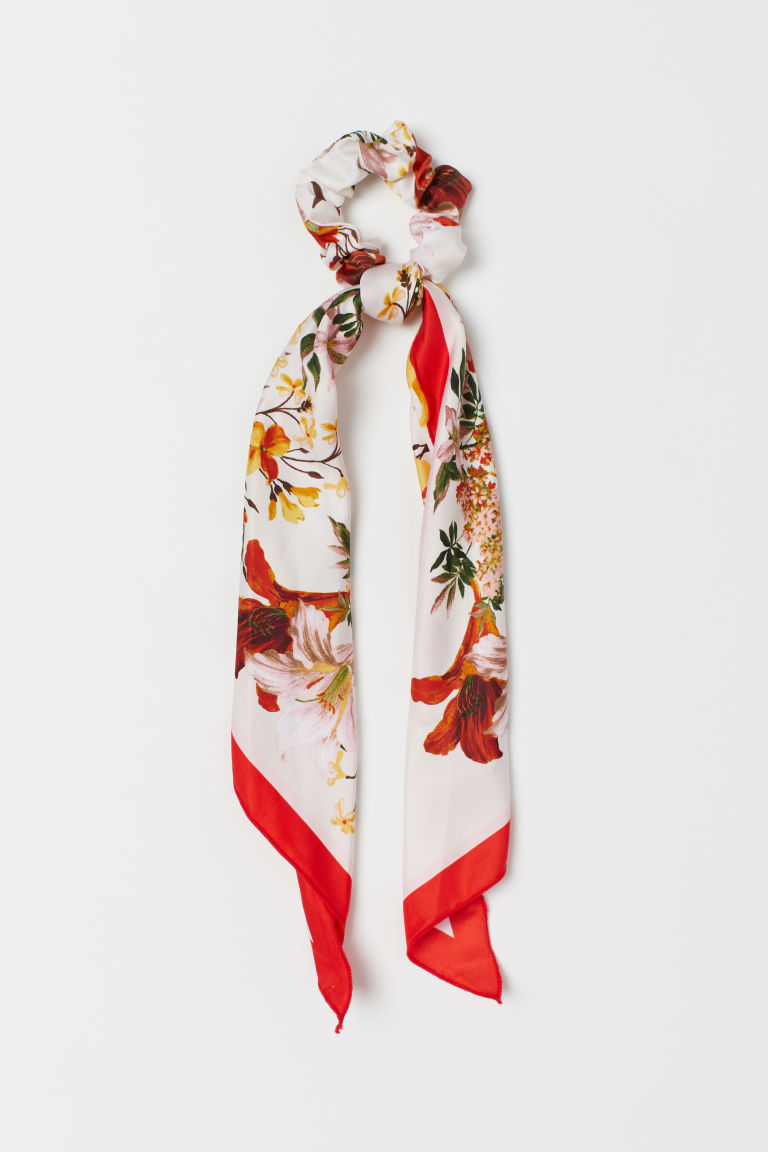 Scrunchie with Scarf Detail