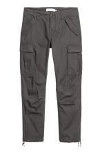 Cargo trousers - Anthracite grey - Men | H&M 2