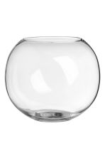Large glass vase - Clear glass - Home All | H&M CA 1