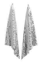 Long earrings - Silver-coloured - Ladies | H&M CN 1